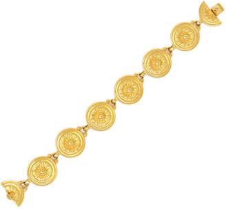 Ben-Amun Flower-Detail Chain Bracelet