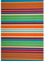 Christopher Knight Home Roxanne Lex Indoor/Outdoor Orange Multi Stripe Rug (8' x 10')