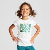Cat & Jack Toddler Girls' Graphic T-Shirt - Cat & Jack White