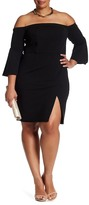 ABS by Allen Schwartz Off-The-Shoulder Dress (Plus Size)
