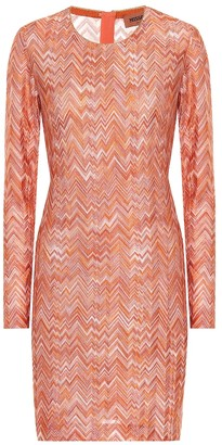 Missoni Striped knit minidress