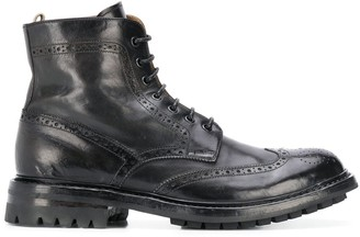 Officine Creative Exeter lace-up ankle boots