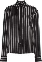 Haider Ackermann Striped satin shirt