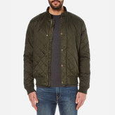 Barbour Men's Moss Quilted Jacket Sage