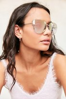 Urban Outfitters Rimless Cat-Eye Sunglasses