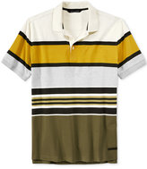 Sean John Men's Colorblocked Striped Polo, Only at Macy's