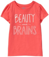 Crazy 8 Beauty And Brains Tee