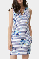 Joules Blue Stripe Sleeveless Dress
