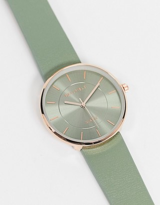 Bellfield watch in grey with rose gold tone