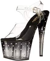 Pleaser USA Women's STDUS708T/C/B-C Platform dress Sandal