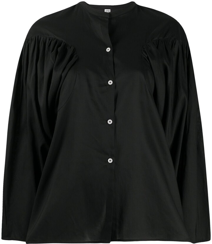 Totême Puff-Sleeve Shirt
