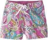 Kanu Surf Little Girls' Caroline UPF 50+ Board Short