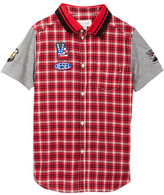 Diesel Cloud Plaid Shirt (Little Boys & Big Boys)