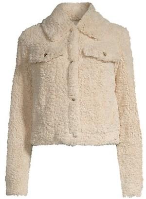 MICHAEL Michael Kors Sherpa Trucker Jacket