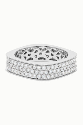 Ofira Cluster 18-karat White Gold Diamond Ring - 6