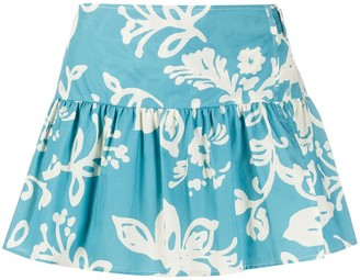 RED Valentino Hawaii-print shorts