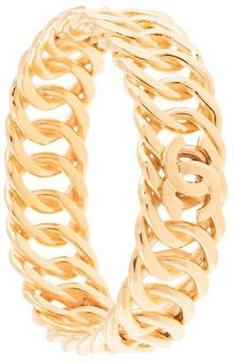 triple CC chain bangle
