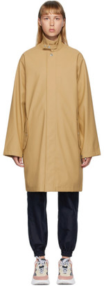 Won Hundred Beige Boston Logo Coat