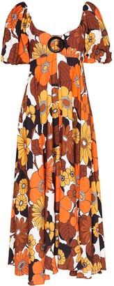 Dodo Bar Or Mor floral-print midi dress
