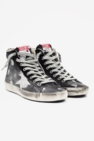 Golden Goose Women's Francy High Top Sneaker - Black Dots