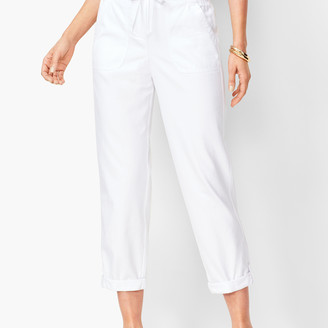 Talbots Drawstring Cuffed Pants