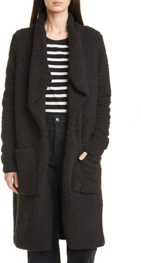 NSF Toni Faux Fur Teddy Bear Coat