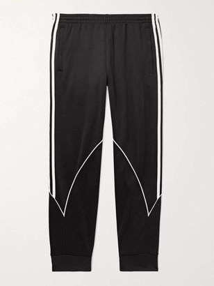 adidas Striped Tech-Jersey Track Pants