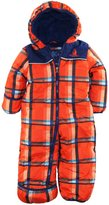 Rugged Bear Baby Boys Newborn Plaid One Piece Puffer Snowsuit Pram Bunting