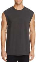 Vince Distressed Muscle Tee