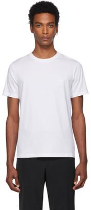 Prada White Jersey T-Shirt