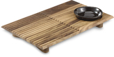 Wood Sushi Plate with Bowl