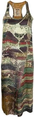 UMA WANG Abstract Print Tank Dress