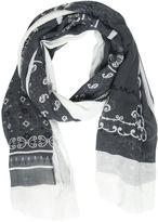 Destin Surl Bandana Printed Cotton & Cashmere Scarf