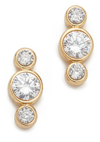 Kate Spade Bright Ideas Round Linear Stud Earrings