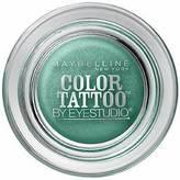 Maybelline Eye Studio Color Tattoo 24Hr Eyeshadow, Edgy Emerald