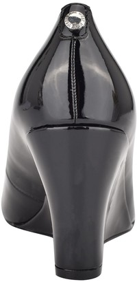 Nine West 9x9 Dress Wedges - Cal Patent