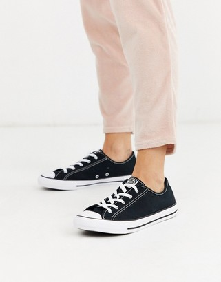 Converse Chuck Taylor All Star Dainty trainers in black