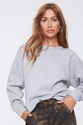 Forever 21 Basic Drop-Shoulder Pullover Top