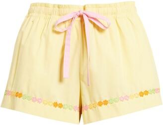 ban.do Daisy Chain Sleep Shorts