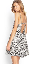 Forever 21 Watercolor Daisy Smock Dress