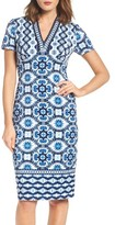 Maggy London Women's Ikat Sheath Dress