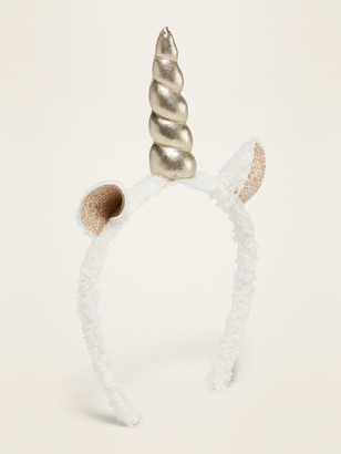 Old Navy Sherpa Unicorn Headband for Girls