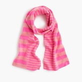 J.Crew Girls' cashmere striped scarf