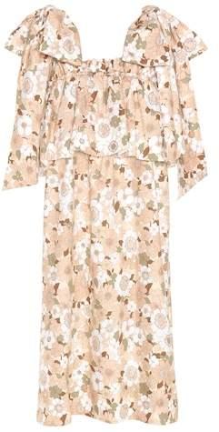 Chloé Printed cotton dress