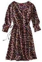 Merona Women's Crossover Bodice Waist Tie Dress - Assorted Colors