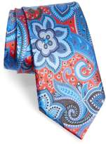 Ermenegildo Zegna Quindici Floral Paisley Silk Tie
