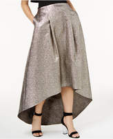 Sachin + Babi Sb by Metallic High-Low Skirt, Created for Macy's