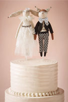 BHLDN Woodland Creatures Cake Topper
