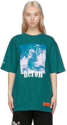 Heron Preston Blue Herons T-Shirt
