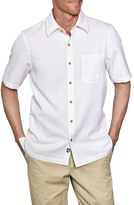 Nat Nast 'Havana' Regular Fit Short Sleeve Silk & Cotton Sport Shirt
